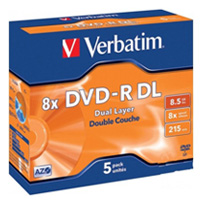 A251096 - Verbatim DVD-R DL With Case