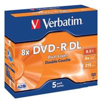 A251096 - Verbatim DVD-R DL With Case
