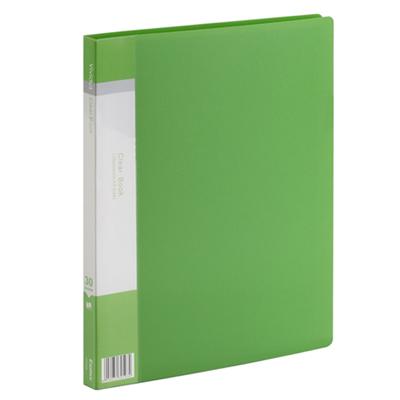 A4-30pcs-Pockets-PP-Vividus-Series-Clear-Book-Green_800x800
