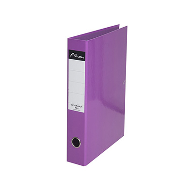 AA0671-Panther-F4-Size-50mm-Lever-Arch-File-Purple-frnt