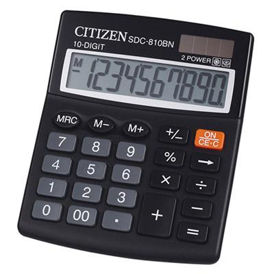 A021034 - Citizen SDC-810BN Calculator