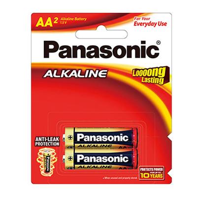 C119003 - Panasonic AA Alkaline Battery