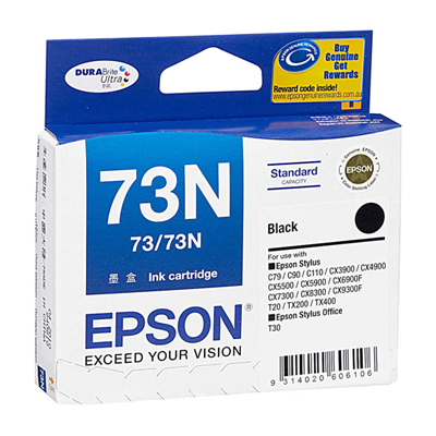 D101017 - Epson 73N Black Ink Cartridge