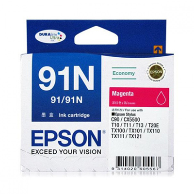 D101045 - Epson 91N Magenta Ink Cartridge