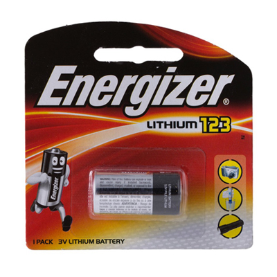 E049018 - Energizer Lithium 123 Battery