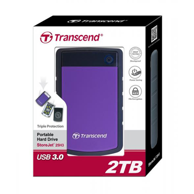 E111024 - Transcend 2TB External Hard Disk