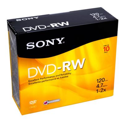 P021103-Sony DVD RW