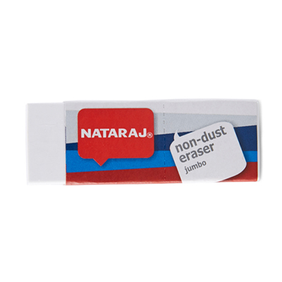 R012026 - Nataraj Non-Dust Eraser Jumbo