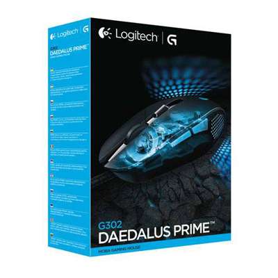 S061005 - Logitech G302 Daedalus Prime Gaming Mouse