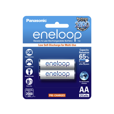S719003 - Panasonic Eneloop AA Batteries