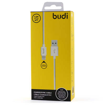 T181024 - Budi Charge Sync Cable Lightning Connector