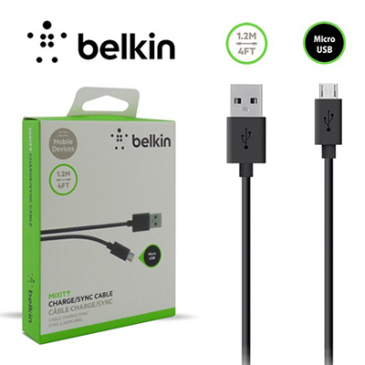 T181074 - Belkin Mixit Charge Sync Cable Micro USB
