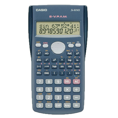 A131008 - Casio fx-82MS Calculator