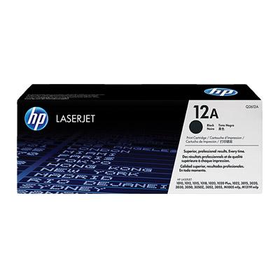 N141035 - HP Toner 12A Black Original LaserJet Toner Cartridge Q2612A