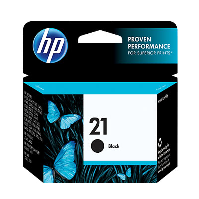 P021099 - HP 21 Black Ink Cartridge