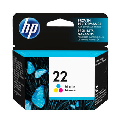 P021100 - HP 22 Colour Ink Cartridge