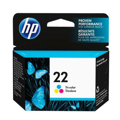 P021100 - HP 22 Colour Ink Cartridge