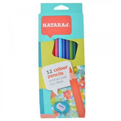 R012015 - Nataraj 12B Colour Pencils
