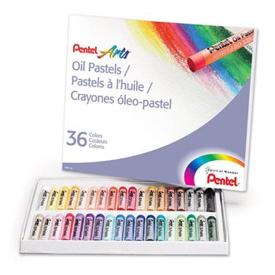 C012001 - Pentel PHN-36 Crayons