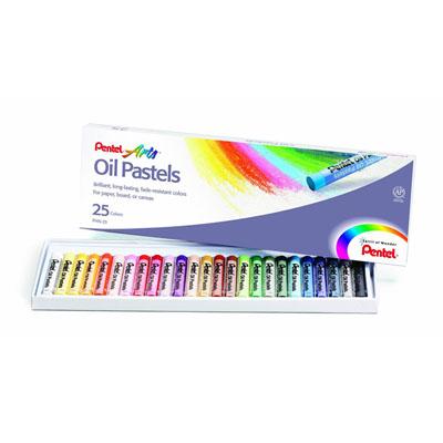 C012002 - Pentel PHN-25 Crayons