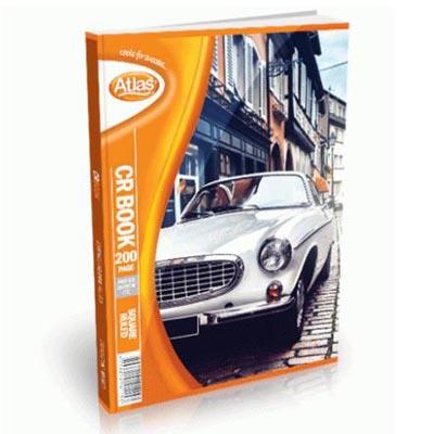 C081026 - Atlas CR Book 200 Pages