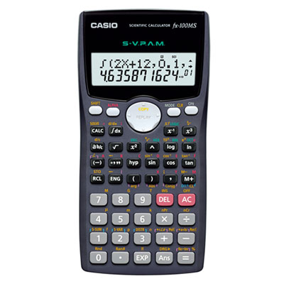 C111001 - Casio fx-100MS Calculator