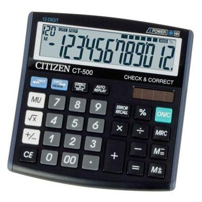 C111156 - Citizen CT-500J Calculator
