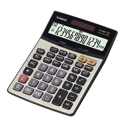 C111465 - Casio DJ-240D Calculator