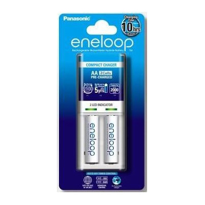 S719007 - Eneloop Battery Charger 2 Pieces