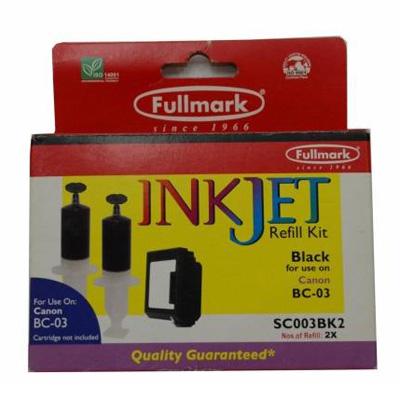 I021019 - Fullmark Inkjet Refill Kit for Canon SC003BK2