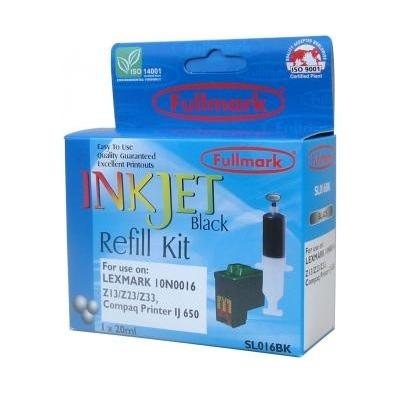I021027 - Fullmark Refil Black Lexmark SL016BK
