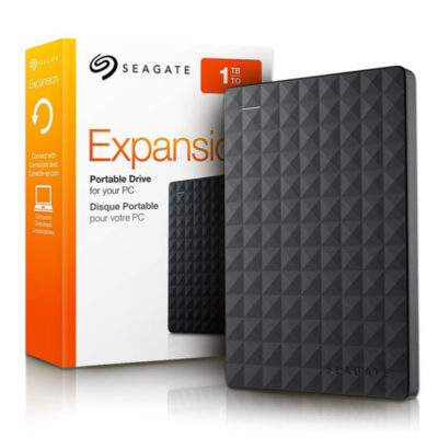 W101001 - HARD DISK SEAGATE 1TB EXPANSION