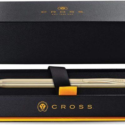 Cross Ballpoint Pen 10 Karat Gold 4502 1