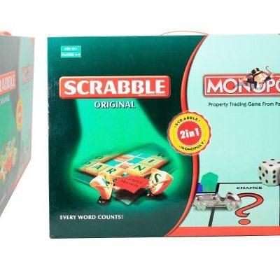 Scrabble Monopoly 2in1